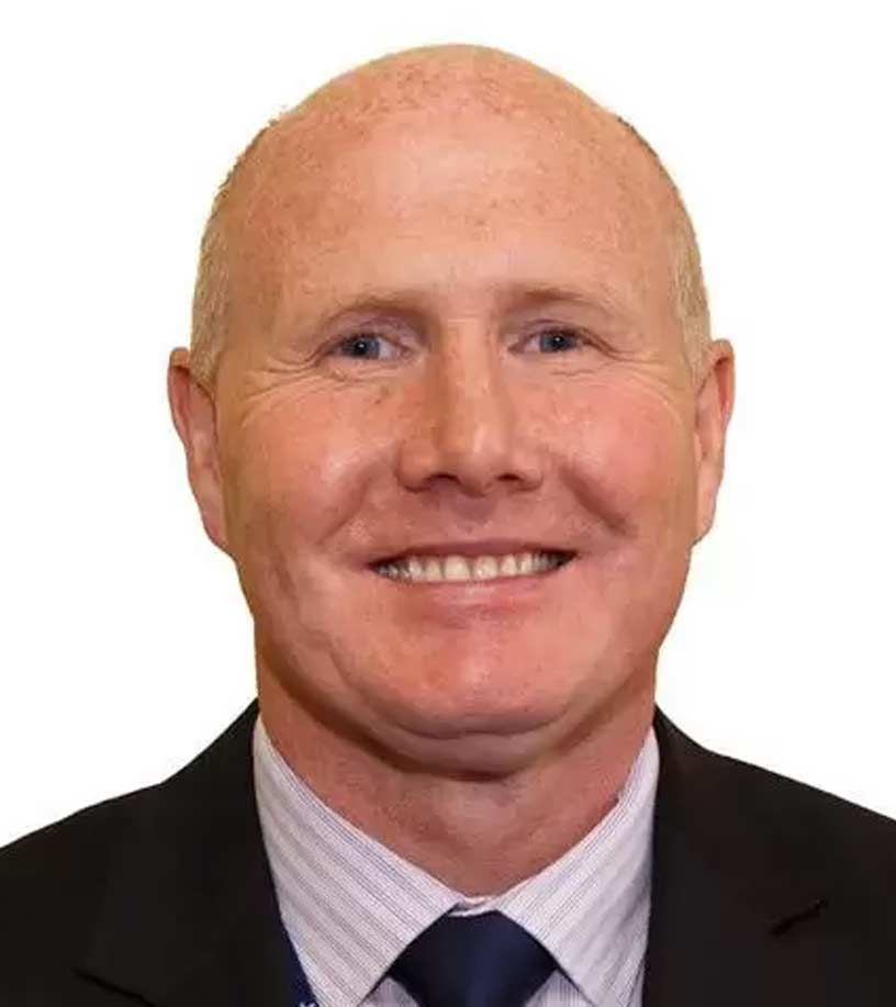 Photograph of Mick Lochran