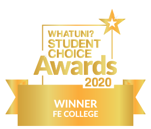 WhatUni? Student Choice Awards 2020 - Winner: FE College category